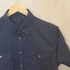 Theory S/S Button Down L